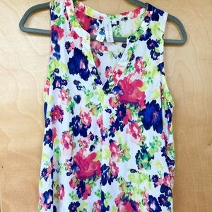 3 for $15 // Society Girl Floral Tank Blouse